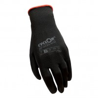 Working Gloves Cyclon Flex nyl/pu M.8 – Red