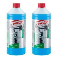 2x Cyclon Bionet Chain Cleaner - 1ltr