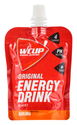 Wcup Energy Drink - 6 x 80 ml